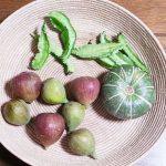 四角豆、無花果、かぼちゃのサラダレシピ、作り方