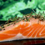 鮭、秋の料理に毎日食べたい、脂がのって美味しいころです。