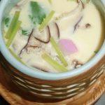 茶碗蒸し、冷たい茶碗蒸し(冷やし茶碗蒸し)簡単です、作り方レシピ(春夏秋冬美味しく楽しめます♪)