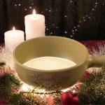 ホットプレートでチーズフォンデュ、一人分でもパーティでも、クリスマス、お正月にも活躍する鍋料理です♪