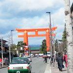 京都は観光シーズンの直前です今京都を歩こう♪