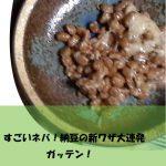 (ガッテン)納豆ジャン|納豆ヨーグルト、お酢納豆の作り方♪|納豆を調味料にする新ワザなど満載