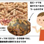 ピーナッツは健康食材、栄養と食べ方「あさイチ」